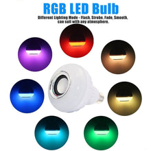 Load image into Gallery viewer, Wireless Bluetooth Music Bulb Speaker With LED Great Portable Outdoor Loudspeaker - Daily Tech Bargains