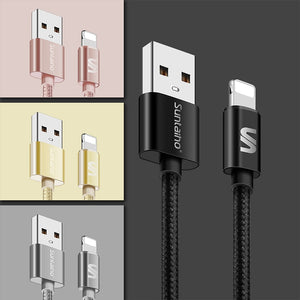 10 Pack 3, 6, 9 FT Lightning to USB Cable Charging Cord For Apple iPhone, iPad - Daily Tech Bargains