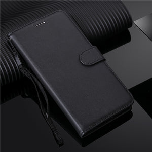 Samsung Galaxy S10 Leather Flip Case with Stand Cover - Daily Tech Bargains