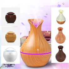 Load image into Gallery viewer, Aroma Essential Oil Diffuser Portable Ultrasonic Mist Humidifier Air Purifier LED Night Light 5 oz (130 ml) - Daily Tech Bargains