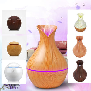 Aroma Essential Oil Diffuser Portable Ultrasonic Mist Humidifier Air Purifier LED Night Light 5 oz (130 ml) - Daily Tech Bargains