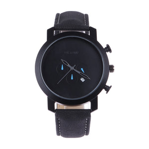 Men's Luxury Watch Minimalist Watch Business Leather Wrist Watches - Daily Tech Bargains