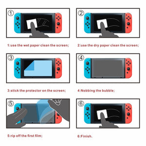 Premium Tempered Glass Screen Protector & Joystick Pads For Nintendo Switch - Daily Tech Bargains