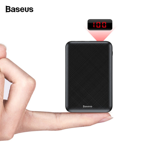 Baseus 10000mAh Mini Power Bank Portable with Type C PD Charger, External Battery - Daily Tech Bargains