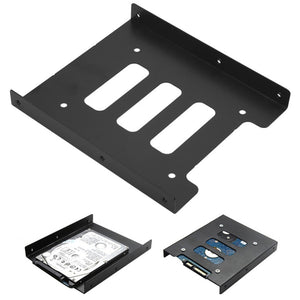 2.5 inch to 3.5 inch SSD HDD Metal Adapter Mounting Bracket Hard Disk Drive - Daily Tech Bargains