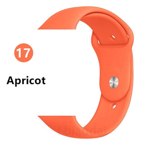 Sport Silicone Apple Watch Band 38mm 40mm - Daily Tech Bargains