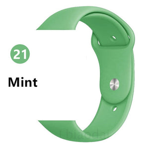 Sport Silicone Apple Watch Band 42mm 44mm - Daily Tech Bargains