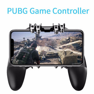 PUBG Mobile Phone Game Controller with Triggers and Gamepad Joystick For IOS Android Mobile Phone - Daily Tech Bargains
