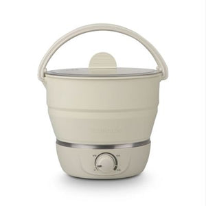 Portable Foldable Electric Travel Hot Pot and Steamer - Daily Tech Bargains