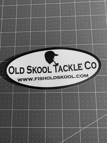 "6"" x 4"" Oval Vinyl Sticker"