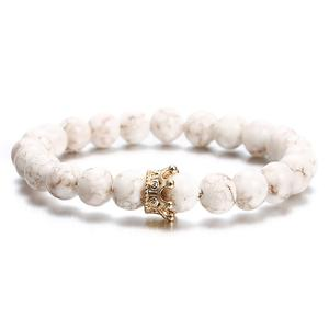 Crown Success Promise Band, Marble, Classico Cristallo