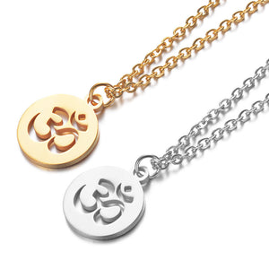 OM Pendant Necklace - Classico Cristallo