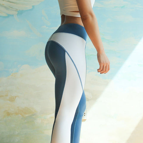 Women Push up Yoga pants Patchwork sports Legging Running Tights Fitness Active wear High waist Hip Up Fitness Sport Leggings