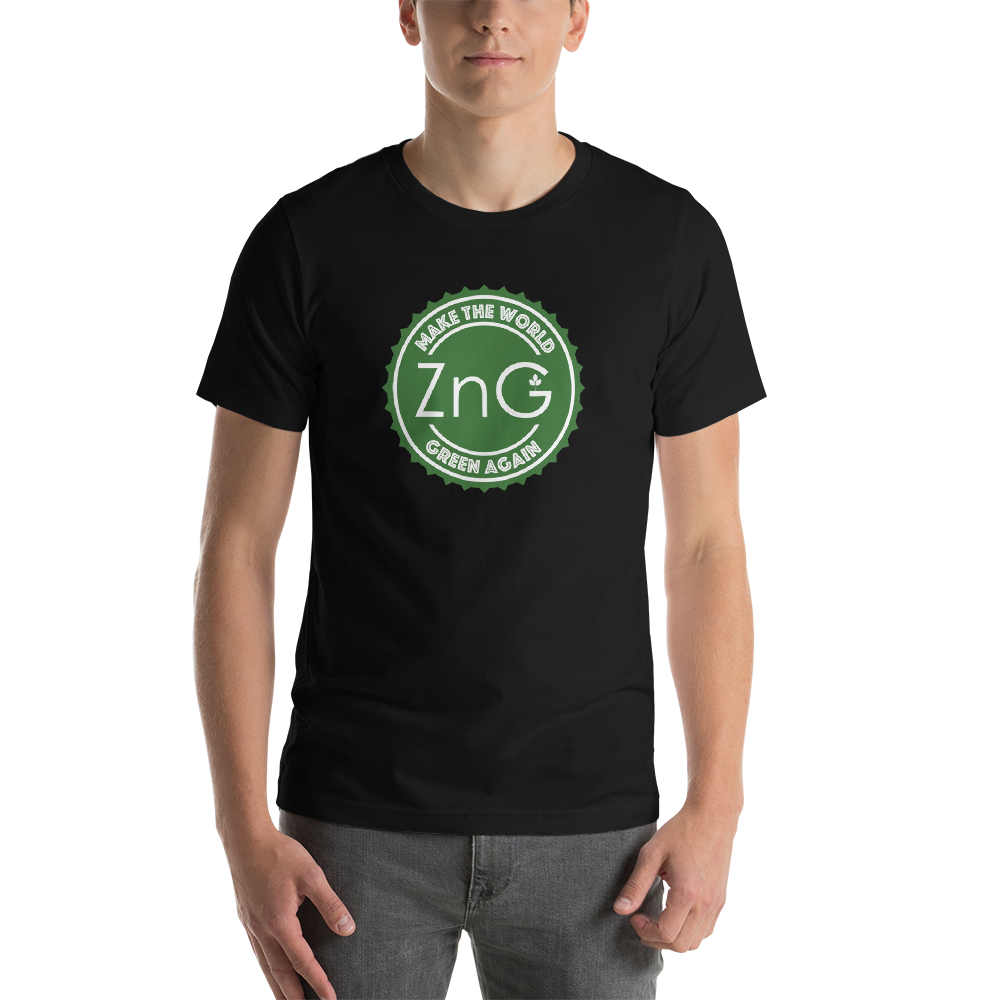 Make The World Green Again Green Logo Unisex T-shirt