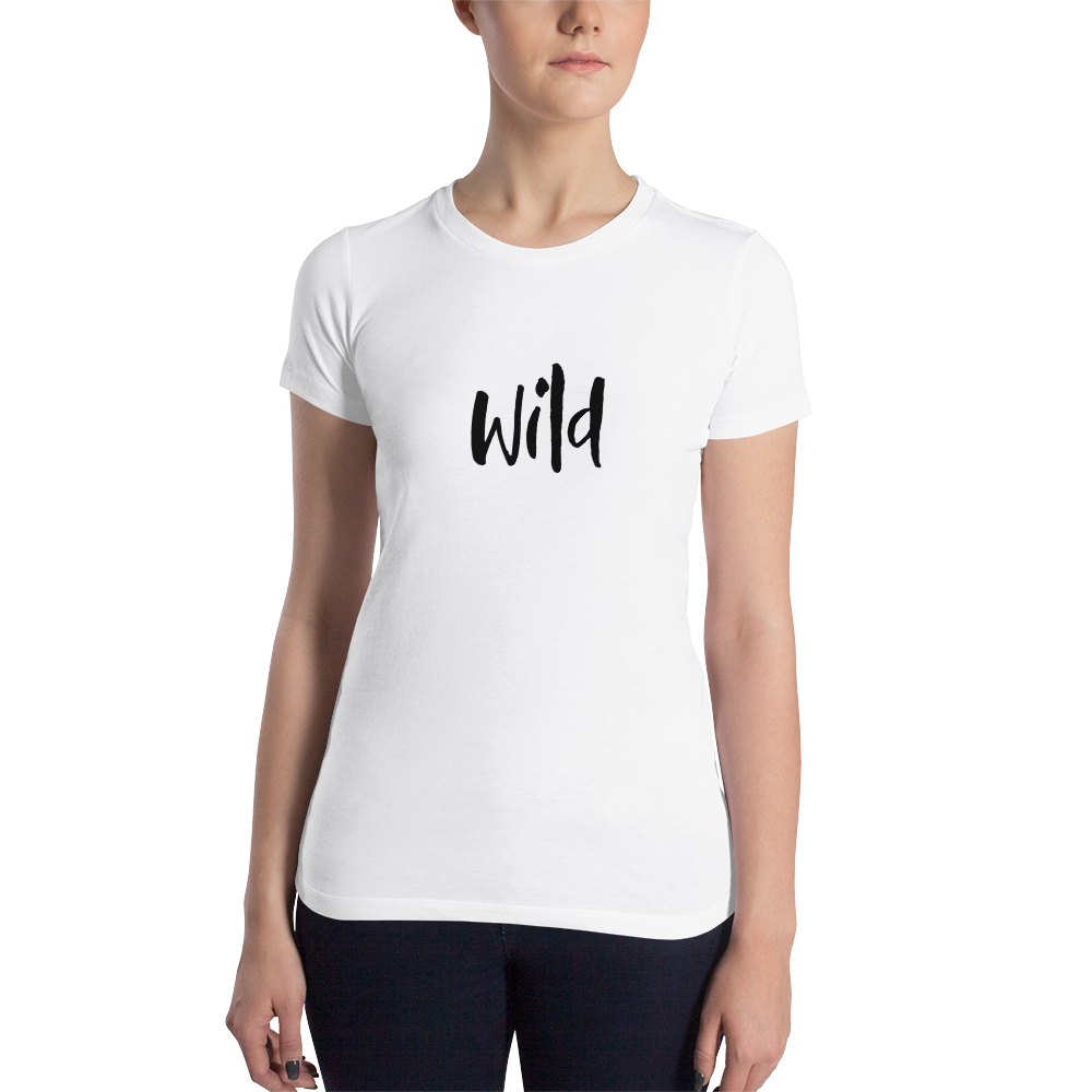 Wild Black Women's T-shirt