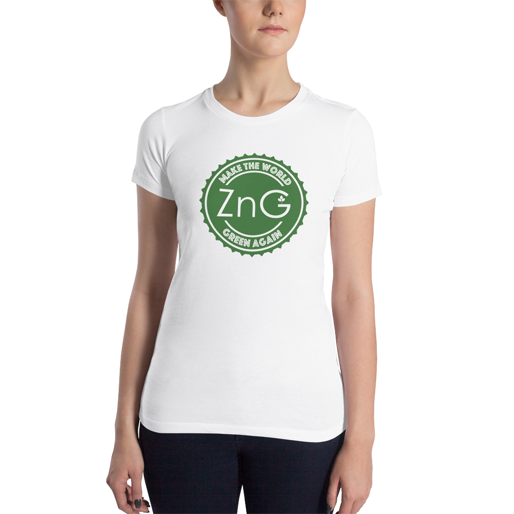 Make The World Green Again Green Logo Women's T-shirt