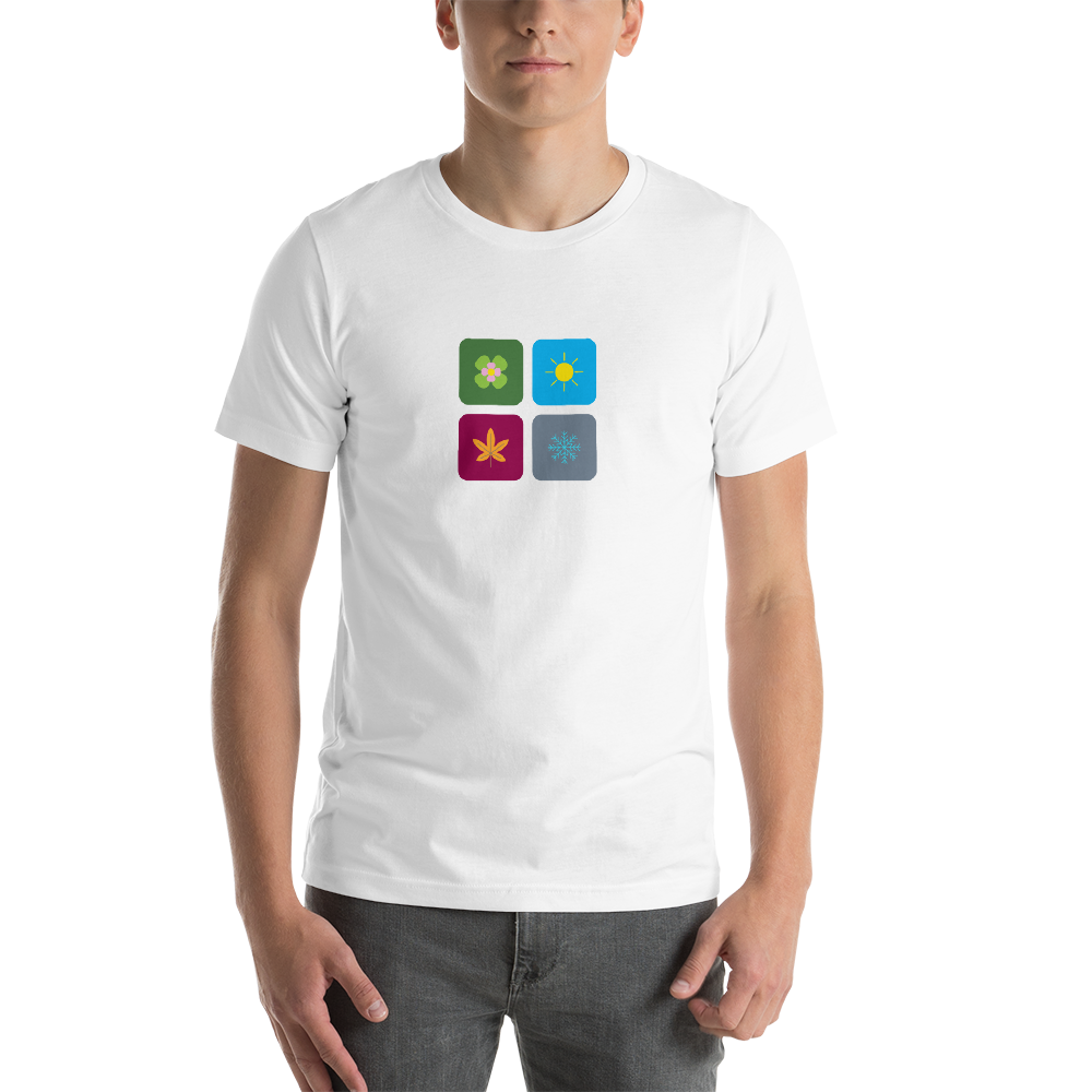 4 Seasons Tiles Unisex T-shirt