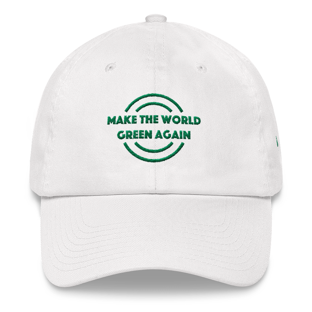 Make The World Green Again Dad Hat