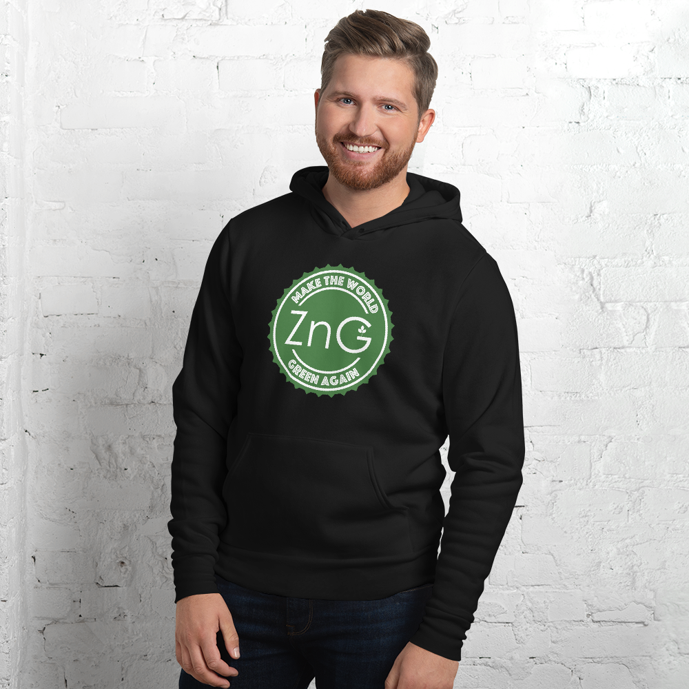 Make The World Green Again Green Logo Unisex Hoodie