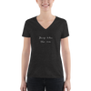 Deep Like The Sea Women's V-neck