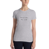 Silent Like The Wind Black Women's T-shirt