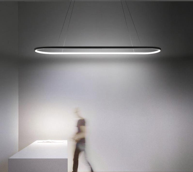 "Futuristic LED Ceiling Lights™ - ""It's placed above my kitchen island and it makes it look amazing!"" - Renée S."