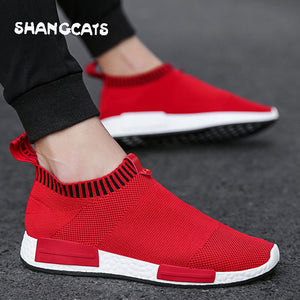 Trend Men Summer Casual Sock Shoes