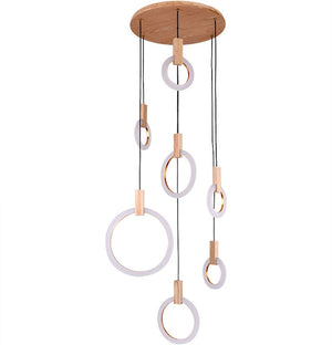 Modern LED Halo Hanging Lights