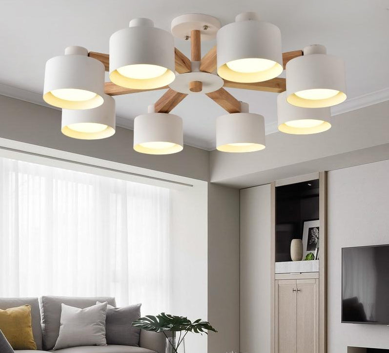 "Nordic Style Sunflower LED Chandelier™ 220V - ""It was love at first sight! So beautiful!"" - Alex D."