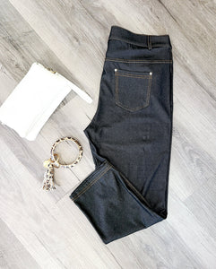 Jean Capri Jegging - 1 XL left!