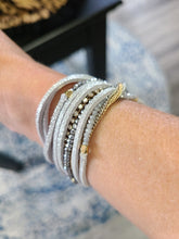 Load image into Gallery viewer, Andi Leather and Chains Wrap Bracelet