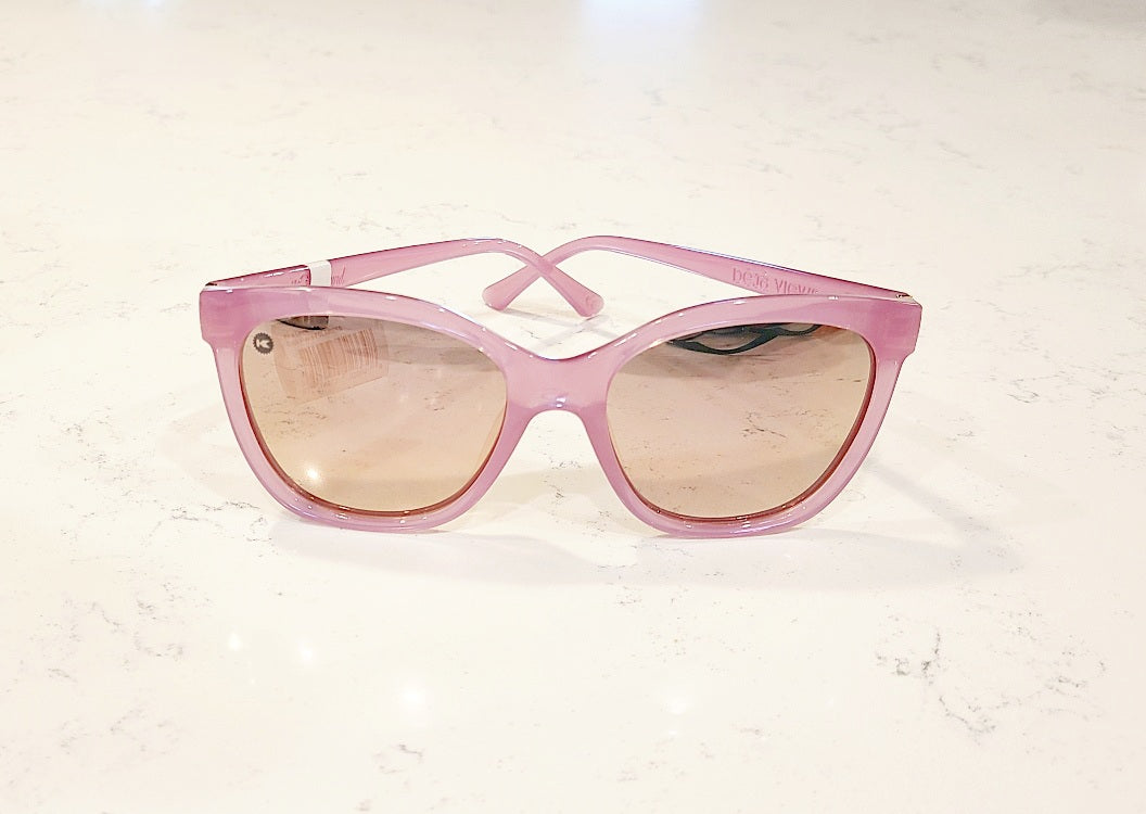 Deja Views - Pink Lemonade Polarized Sunglasses