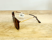 Load image into Gallery viewer, Mary Janes - Glossy Tortoise Shell & Amber Polarized Sunglasses