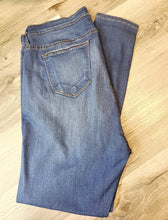 Load image into Gallery viewer, Judy Blue Medium Blue Rayon Skinnies - Curvy
