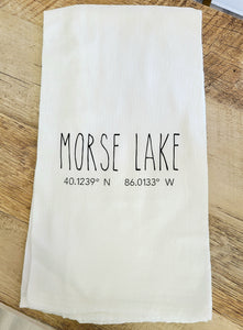 Morse Lake Towels