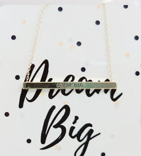 Load image into Gallery viewer, Dream Big Necklace & Gift Card