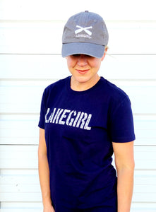 Lake Girl - All American Cap - Grey