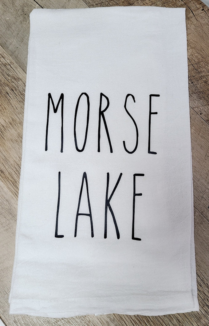 Morse Lake Farmhouse Towels