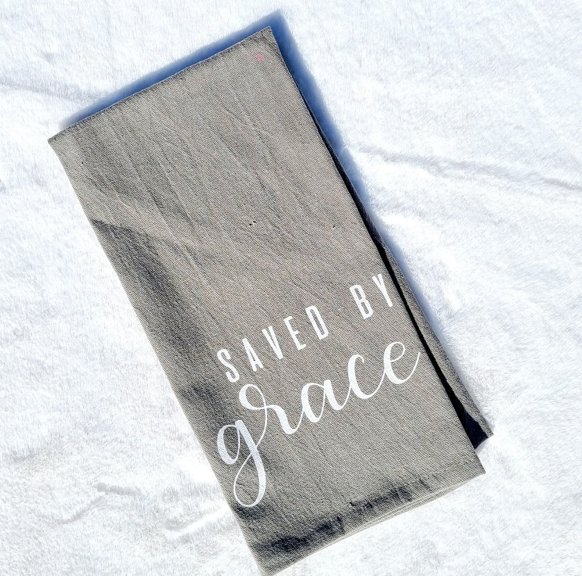 Saved By Grace Towel