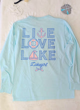 Load image into Gallery viewer, Lakegirl - Live Love Lake Long Sleeve Tee
