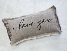 Load image into Gallery viewer, I Love You Pillow