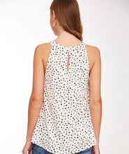 Load image into Gallery viewer, Dot Print Halter Top