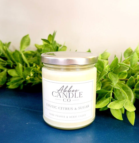 Exotic Citrus & Sugar - Abboo Candle Co.