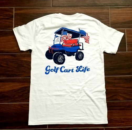 Golf Cart Life T-Shirt