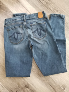 LEVEL 99 - Liza Skinny 5 Pocket Rocky Point Mid-Rise Jean