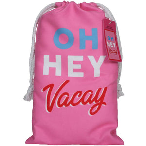Oh Hey Vacay Quick Dry Beach Towels