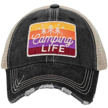 Load image into Gallery viewer, Camping Life Trucker Hats