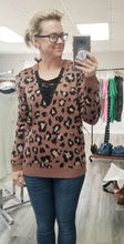 Load image into Gallery viewer, Mauve Leopard Sweater