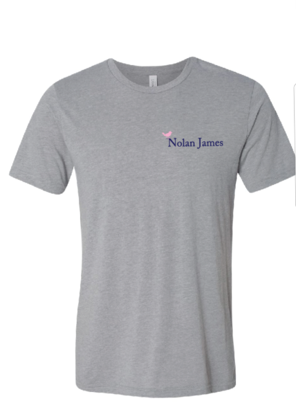 Nolan James T-Shirt - Grey