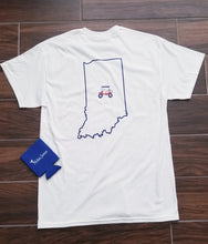 Load image into Gallery viewer, State Of Indiana Golf Cart T-Shirt